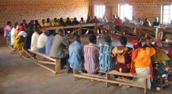 Échange d'experience entre les Comites de paix