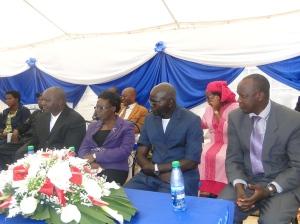 Les hautes autorités du pays participent à la cérémonie de l'inauguration