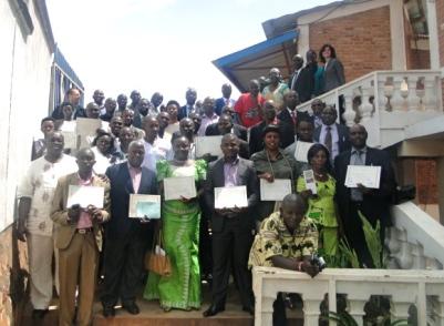 Des lauréats et des invités aux cérémonies du 10e anniversaire de GLPI