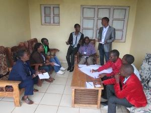 La délégations burundaise discute les forces, les faiblesses et les défis de la société civile au Burundi